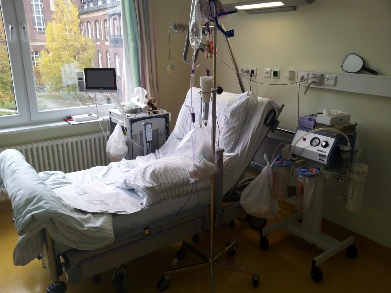 betten machen im krankenhaus